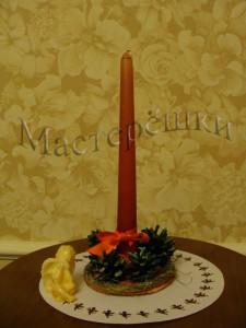 19 рождественская свеча copy